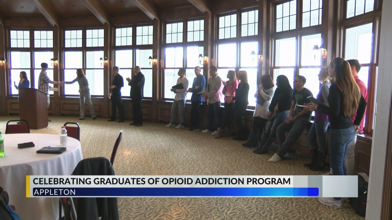 Opioid Addiction Treatment Program Ceremony
