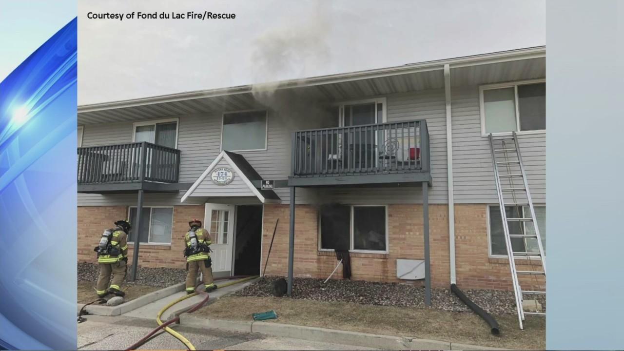Fond du Lac Apartment Fire