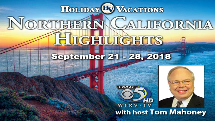 Holiday Vacations Northern California Highlights Trip
