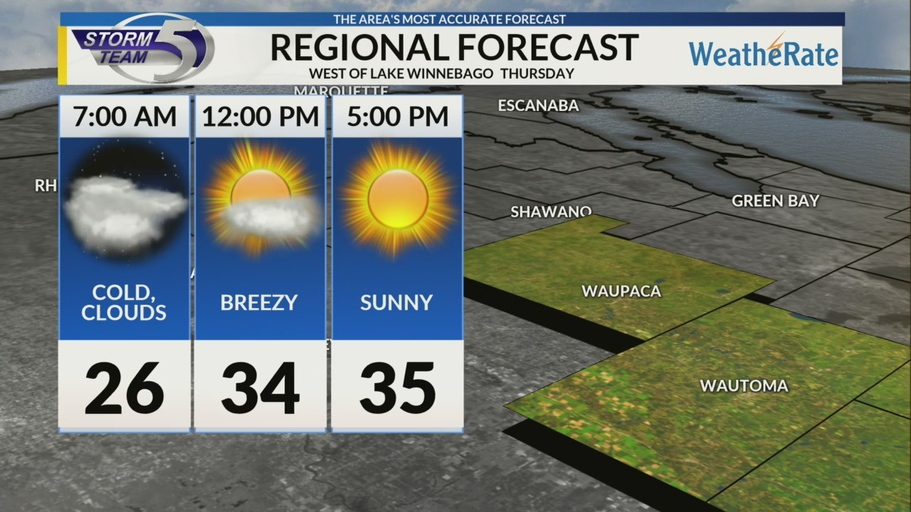 Regional Forecast Central WI 3-15