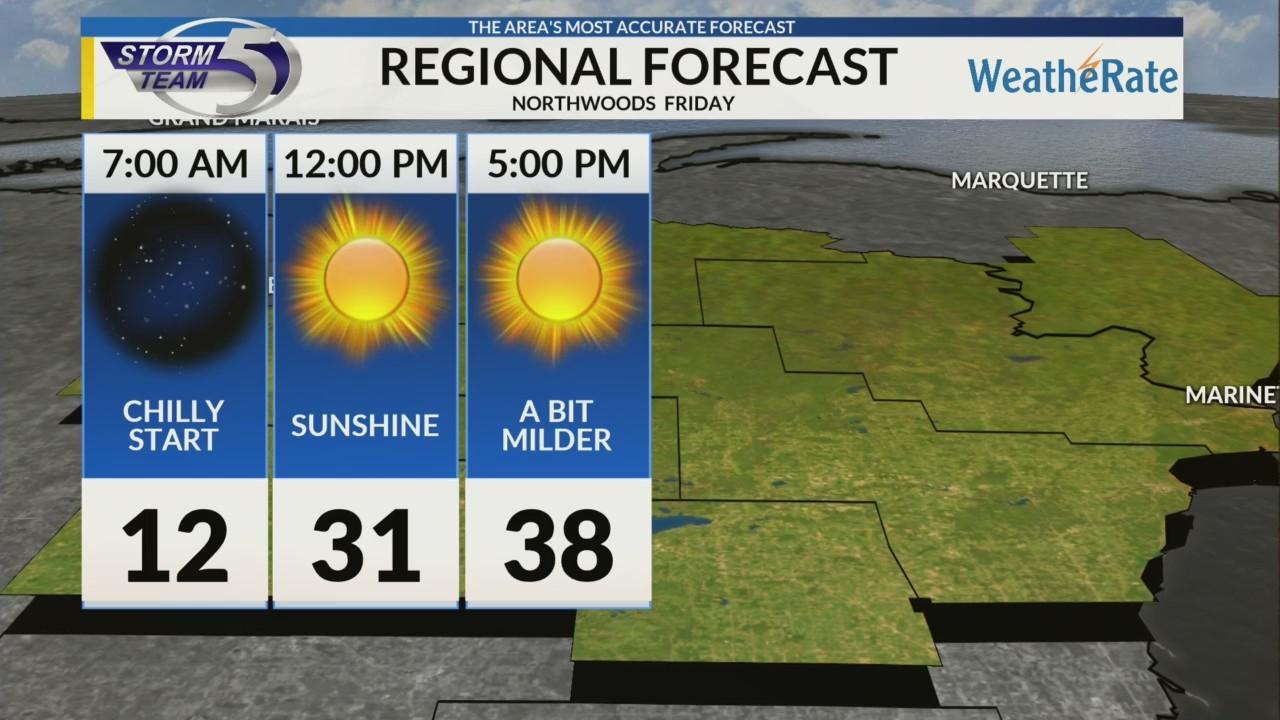 Regional Forecast: Northwoods 3/16/2018