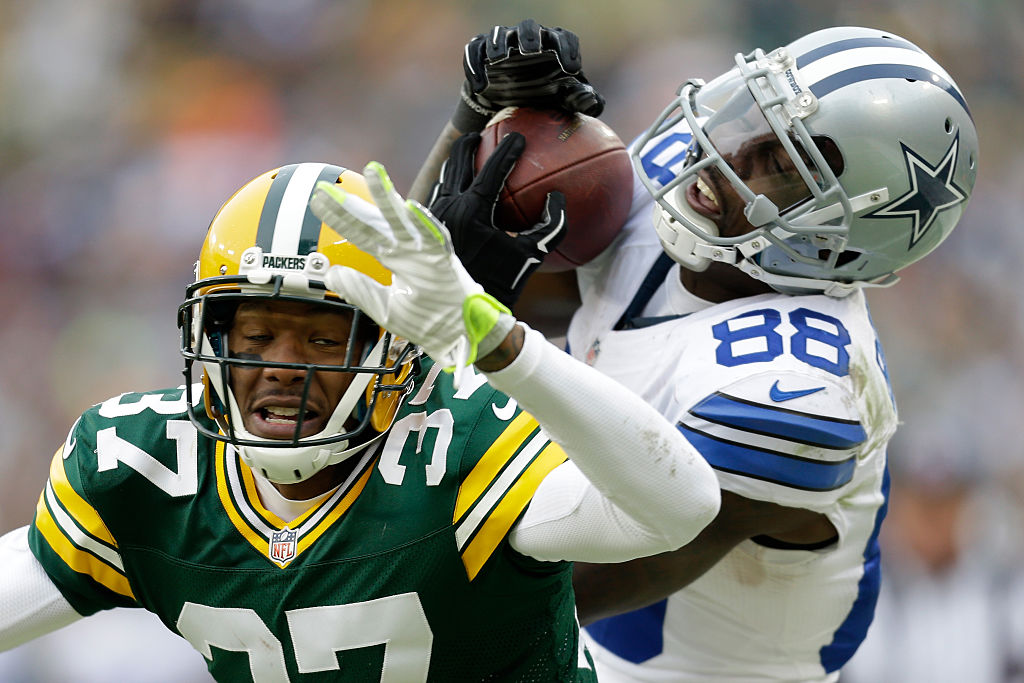 Dez Bryant catch against Packers 2015