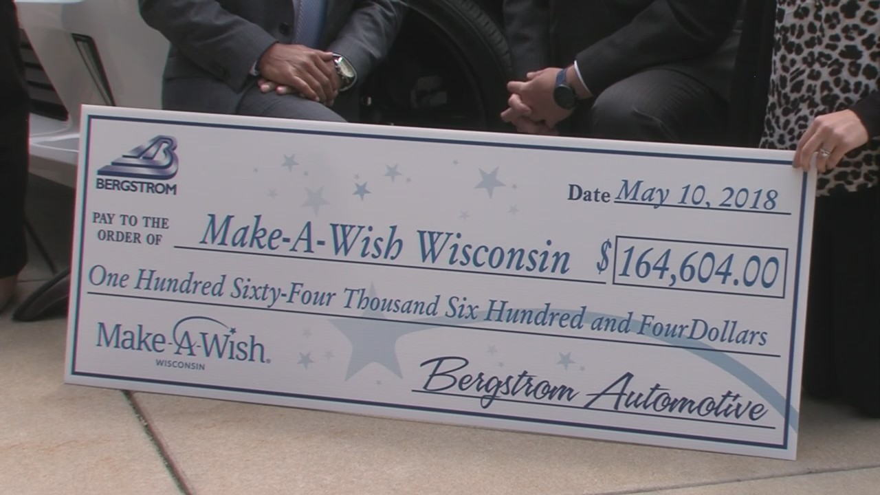 Bergstrom Automotive teams up with Make-A-Wish Wisconsin