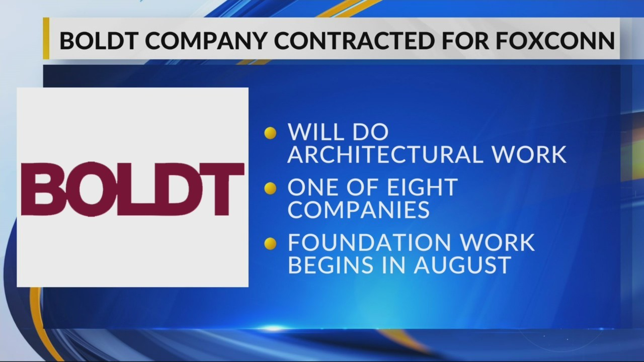 Boldt Awarded Foxconn Contract