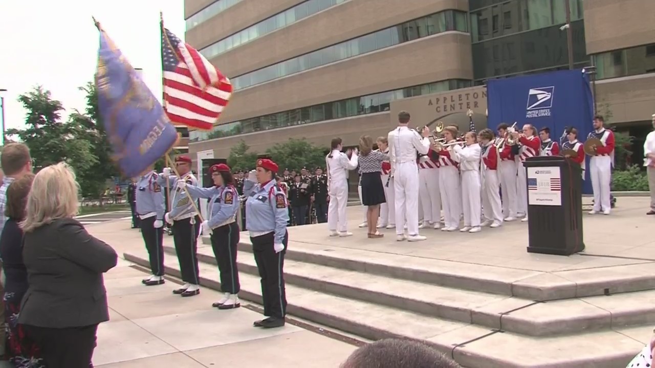 Flag Act Stamp Unveiled in Appleton