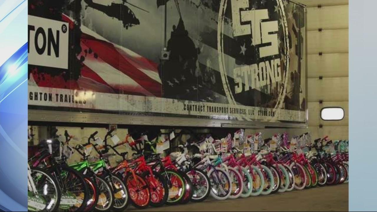CTS Trucking Bike Giveaway