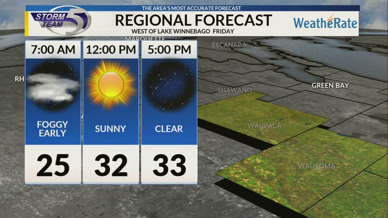 Regional Forecast: Central WI 12/14/2018