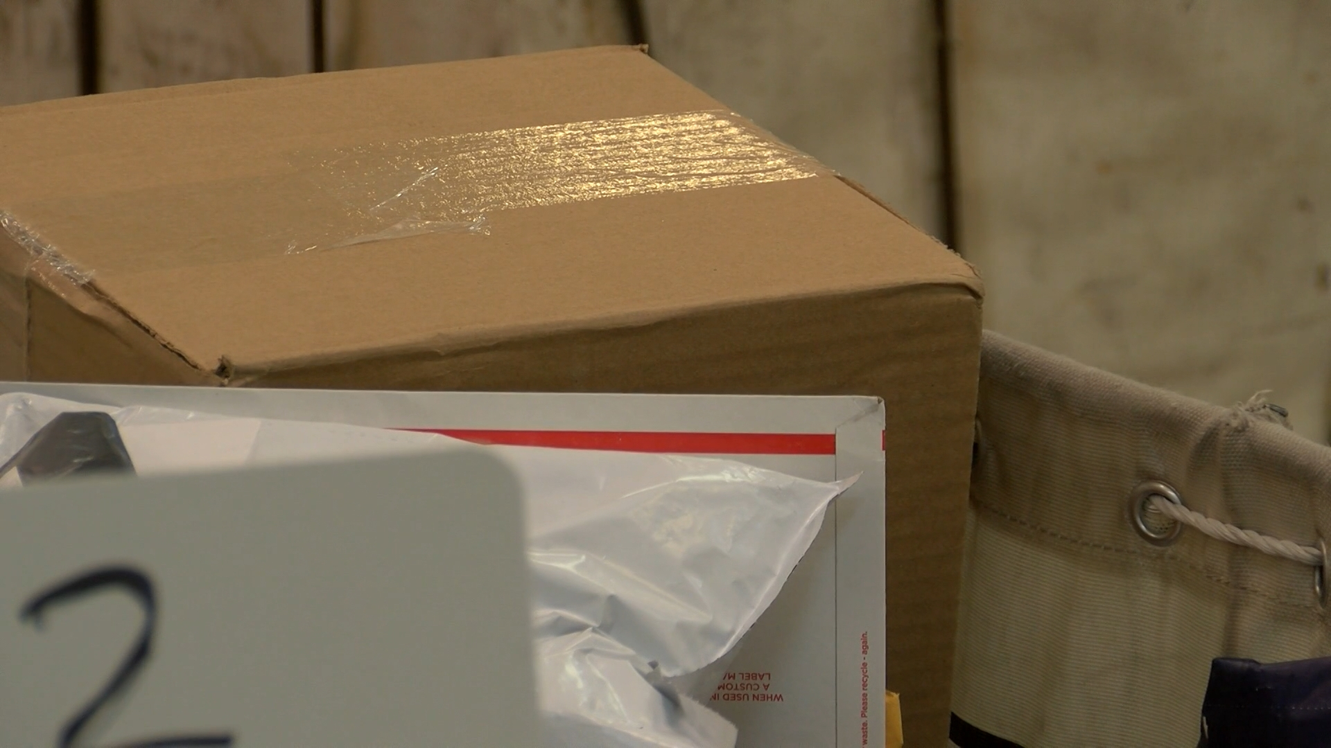 What does the USPS do to packages that contain prohibited items?