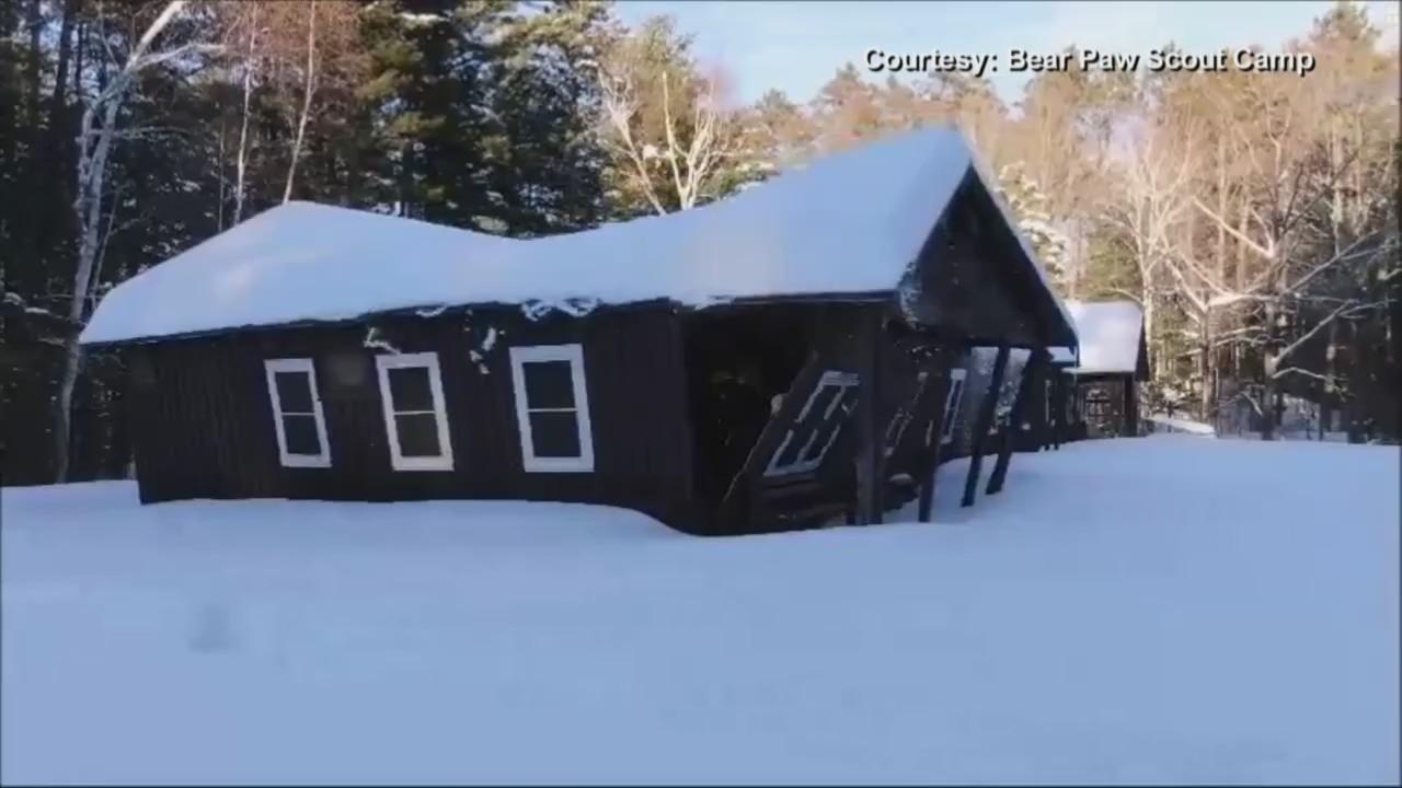Bear Paw Scout Camp Damage