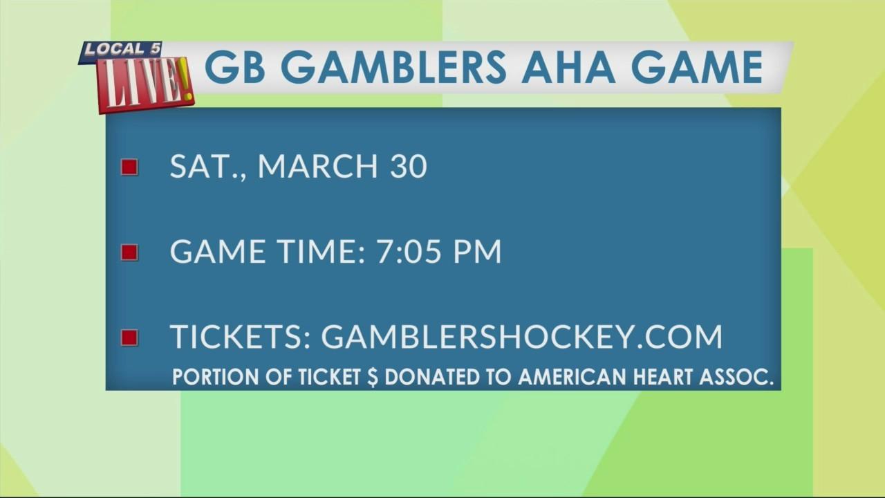 Green Bay Gamblers AHA Game