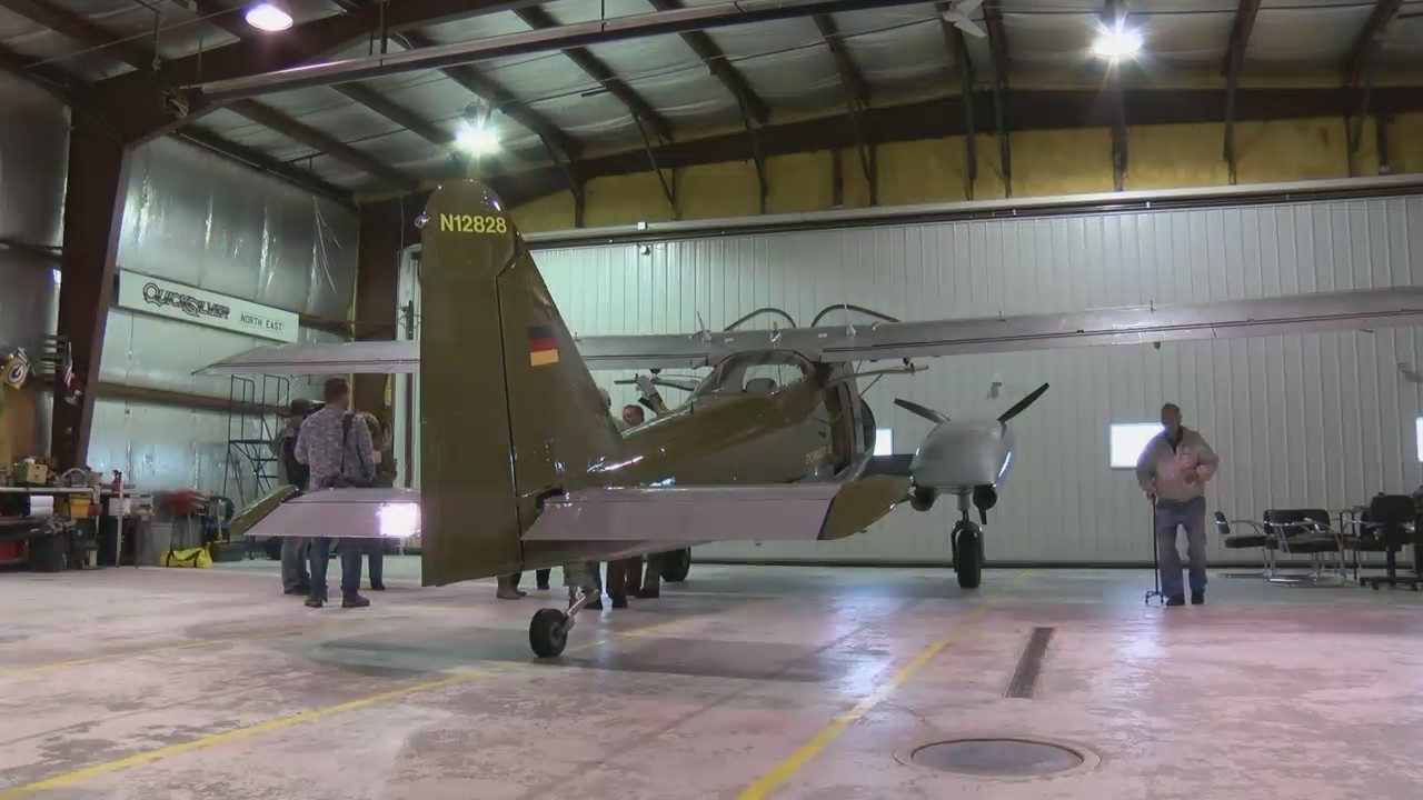 CIA Pilot Reunites with his Plane