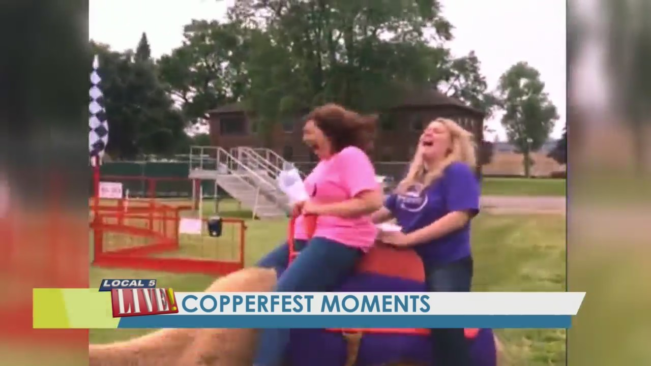 Copperfest this weekend in Oconto