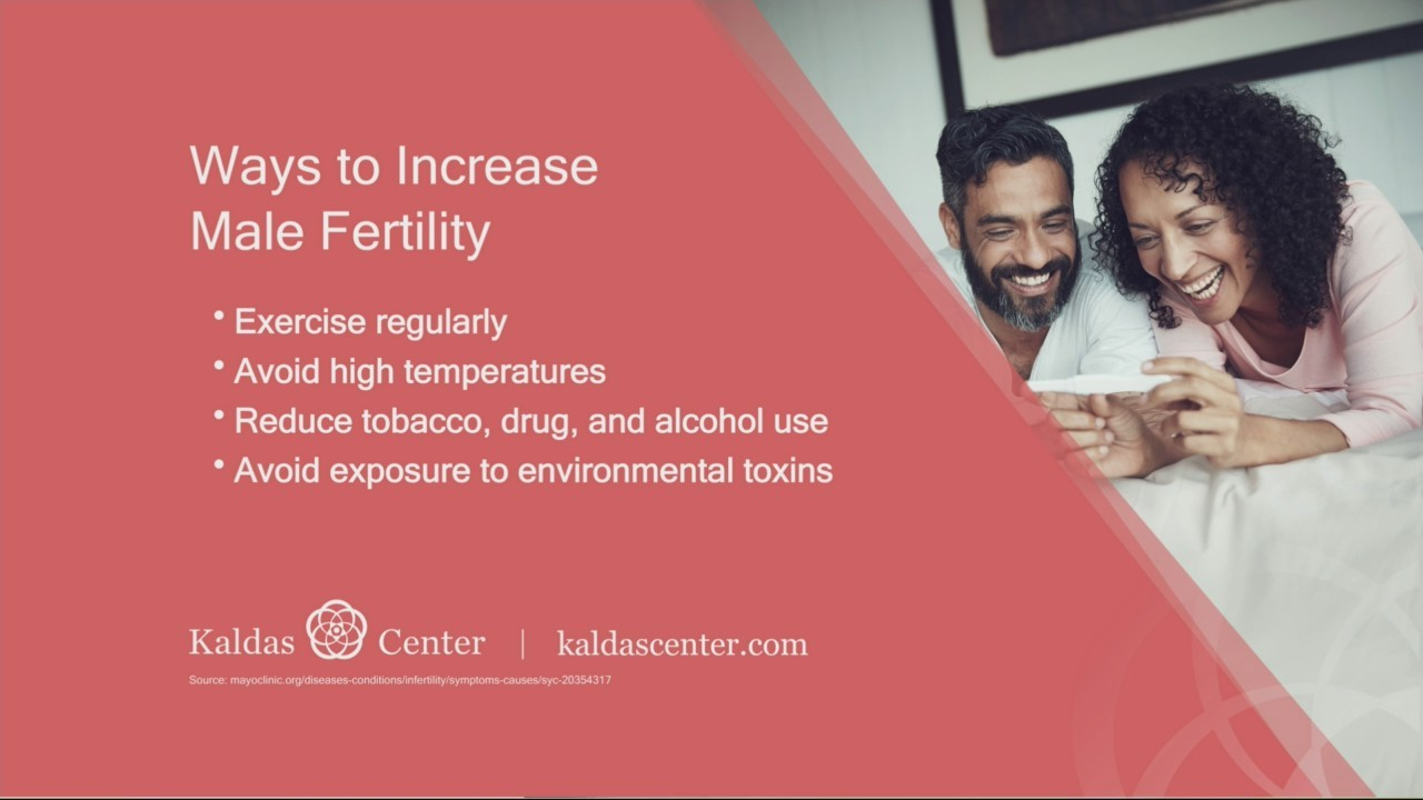 Male Fertility with the Kaldas Center
