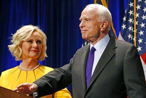 John McCain, Cindy McCain