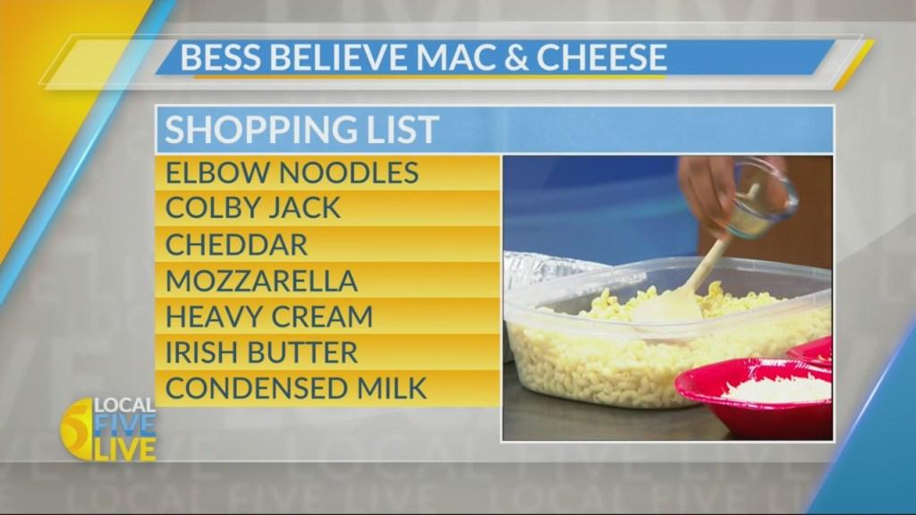 'Bess Believe' Mac & Cheese