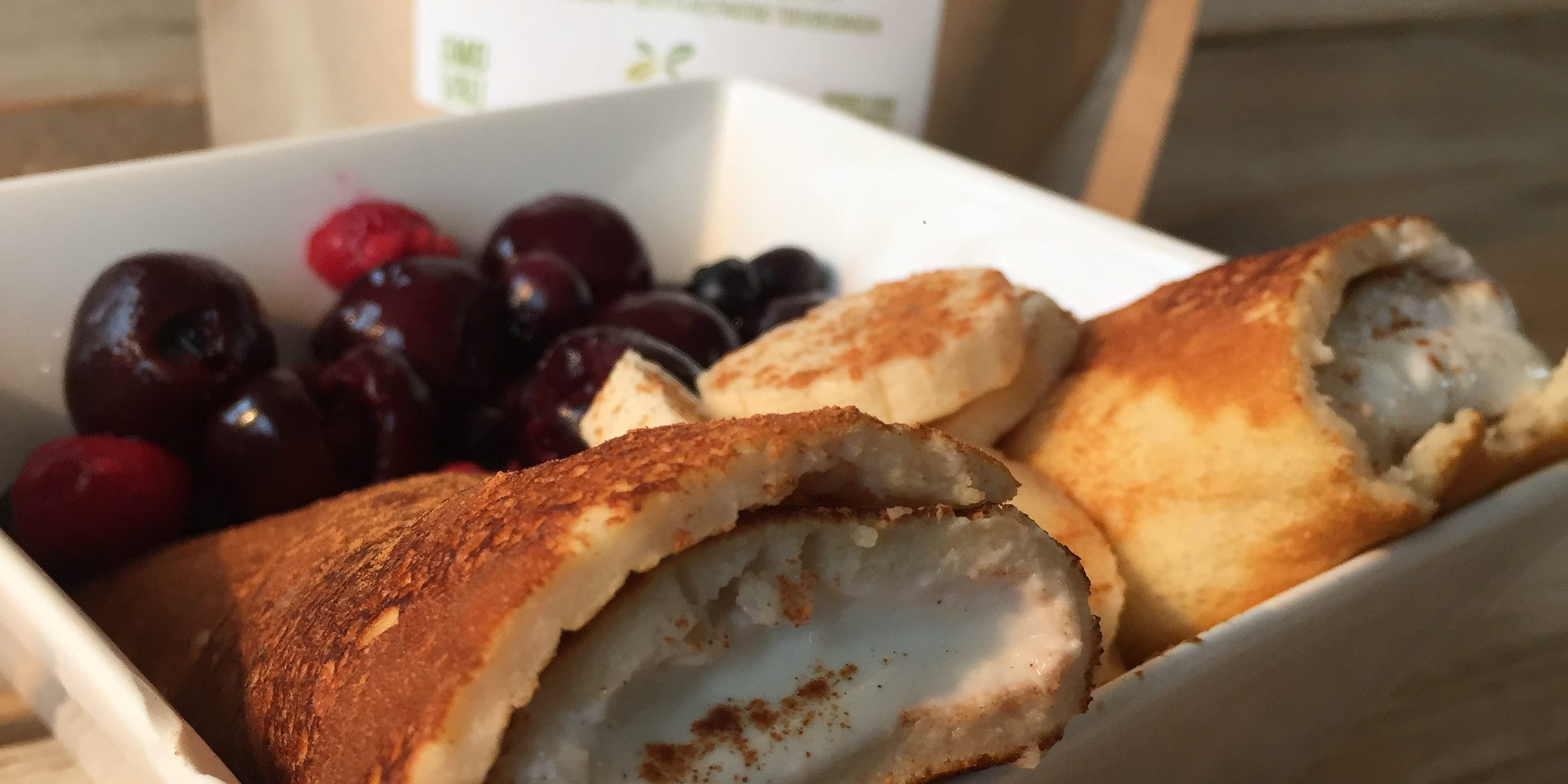 We Are Healthy Pancake wraps