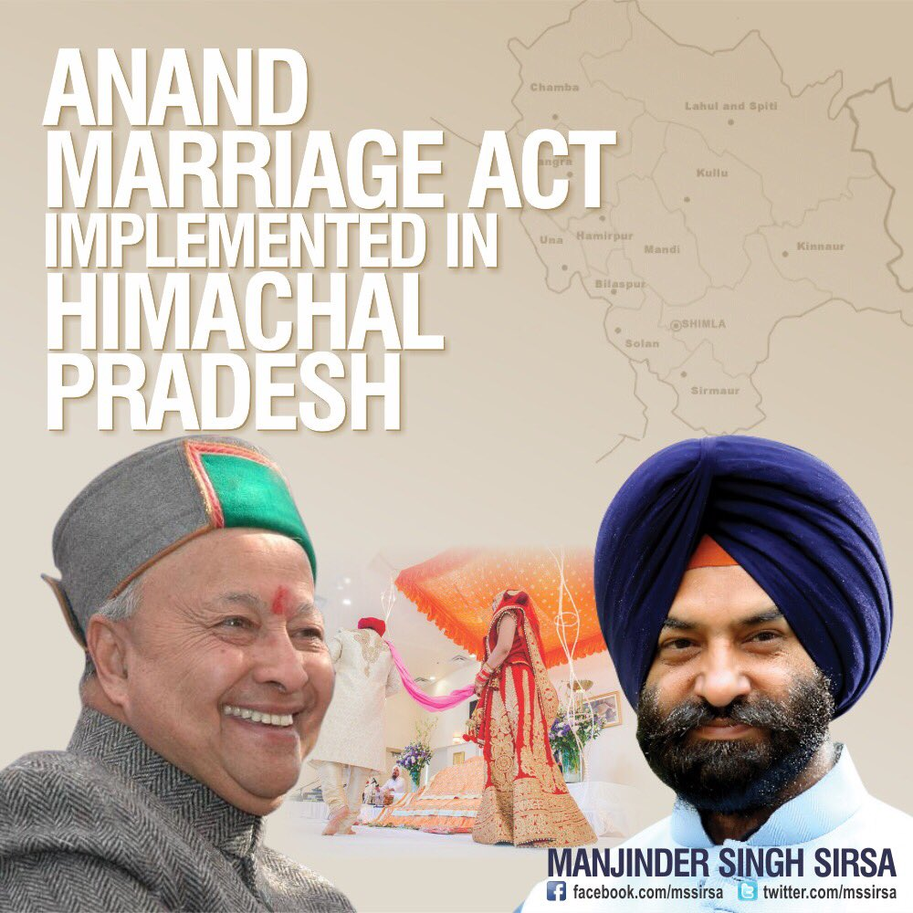Anand Marriage Act Himachal Pradesh