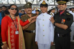 SHAILJA RANA SUB lieutenant INDIAN NAVY FROM HIMACHAL PRADESH