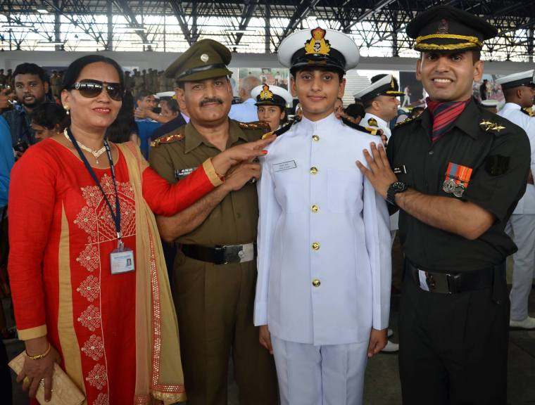 SHILJA RANA SUB lieutenant INDIAN NAVY FROM HIMACHAL PRADESH