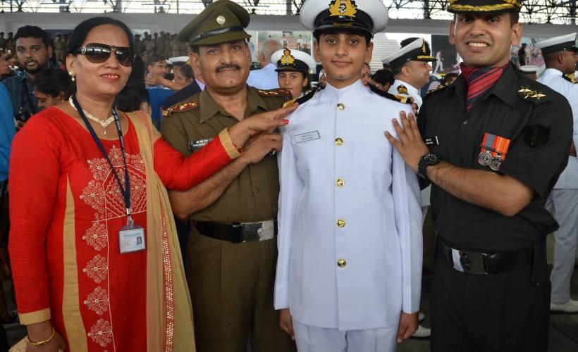 SHAILJA RANA SUB lieutenant INDIAN NAVY FROM HIMACHAL PRADESH