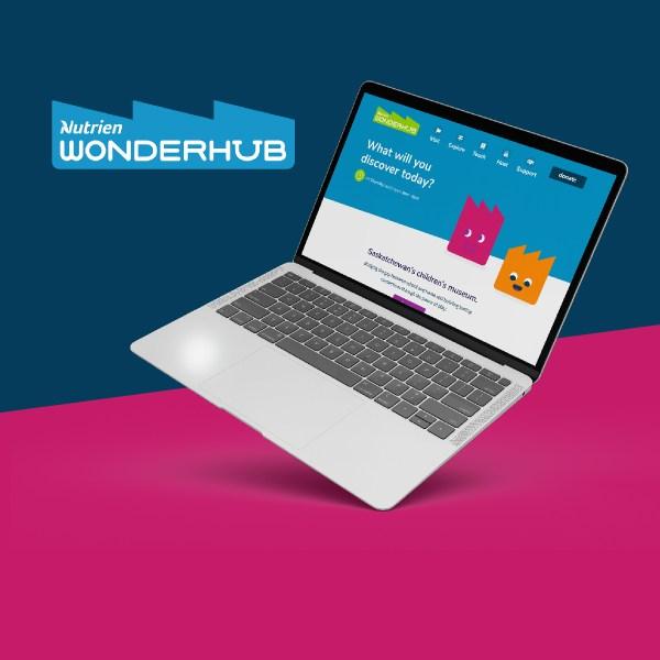 Wonderhub Website Design