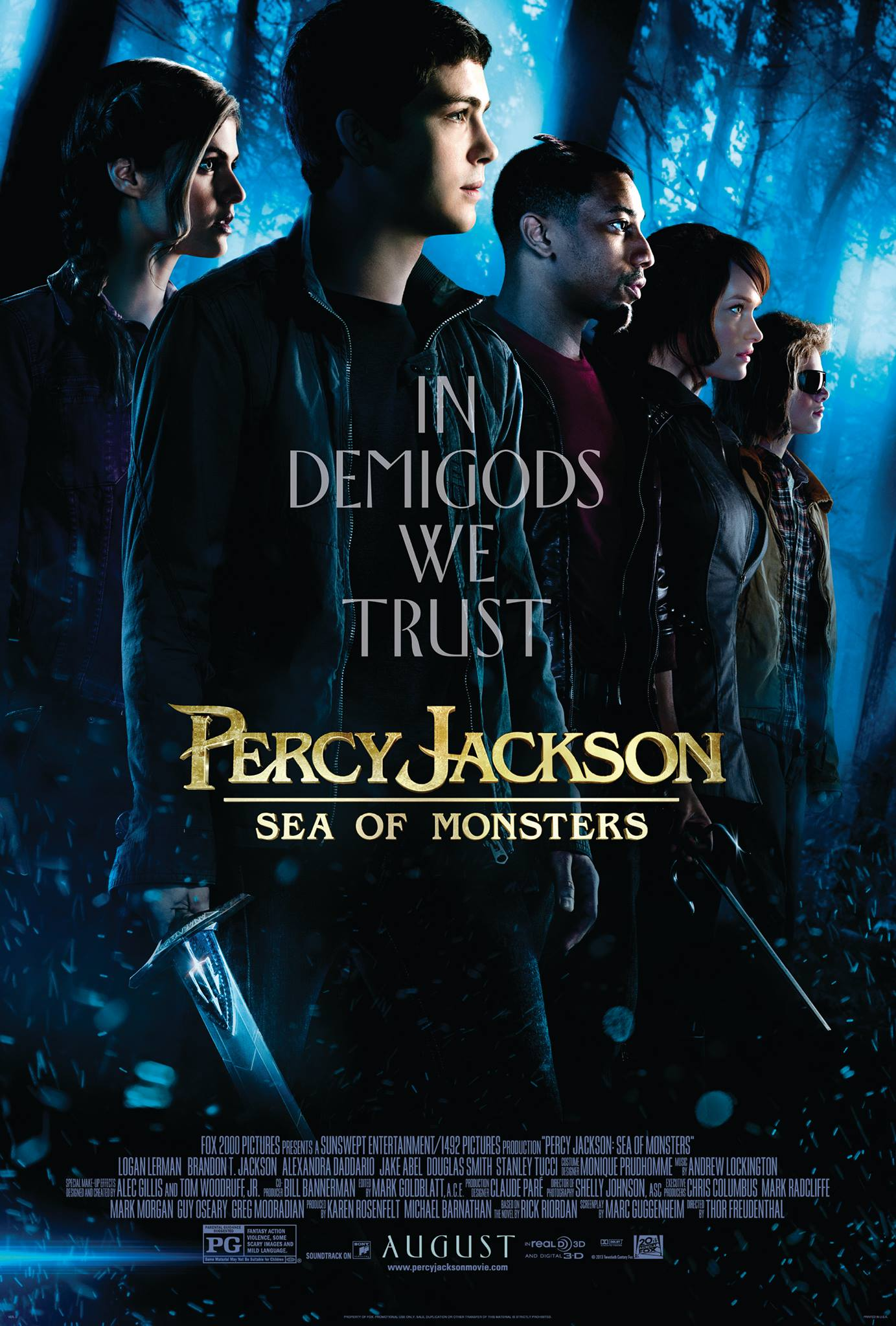 Win Passes To The Advance Screening Of Percy Jackson Sea