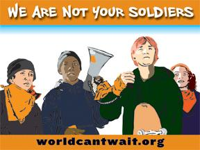 We Are Not Your Soldiers