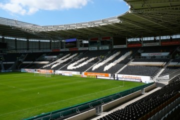 The KCom Stadium, home to Hull City AFC.