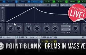 point blank, massive, native instruments, soundspace, tech