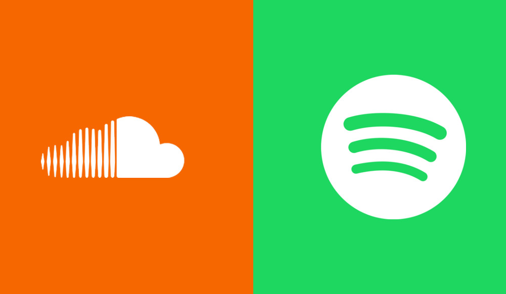 soundcloud, spotify, twitter, google, soundspace