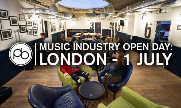 RSVP for a Free Music Industry Expert Panel Discussion & Open Day at Point Blank on 1st July