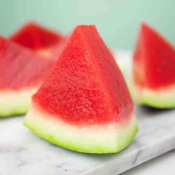 Watermelon Jelly Shots