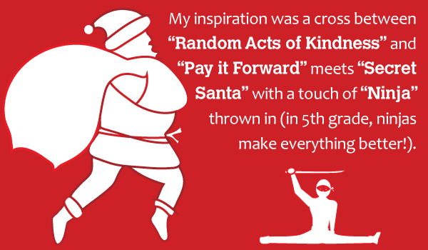 Ninja Santa quote