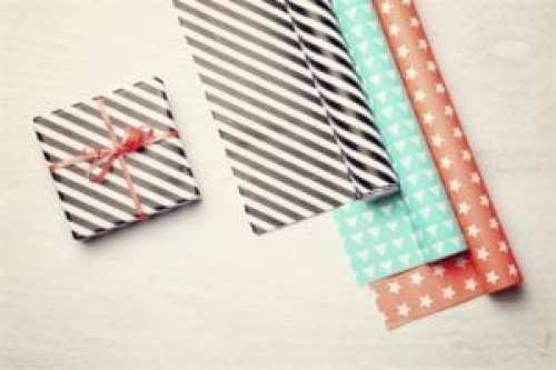 Stretch your school budget by using wrapping paper in the classrom