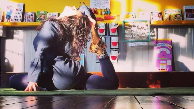 23 Classroom Yoga Photos That Will Inspire You to Stretch It Out