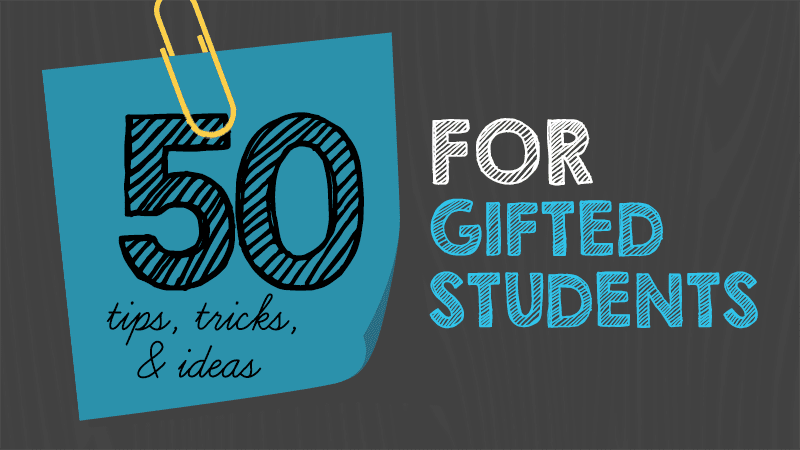 Collaborative Teaching For Gifted Students ~ Tips tricks and ideas for teaching gifted students