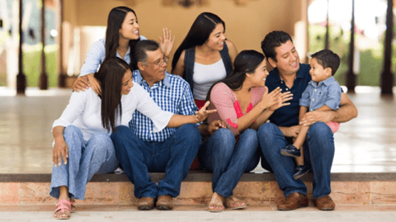 Multi-Generational Family – Making preschool community connections.