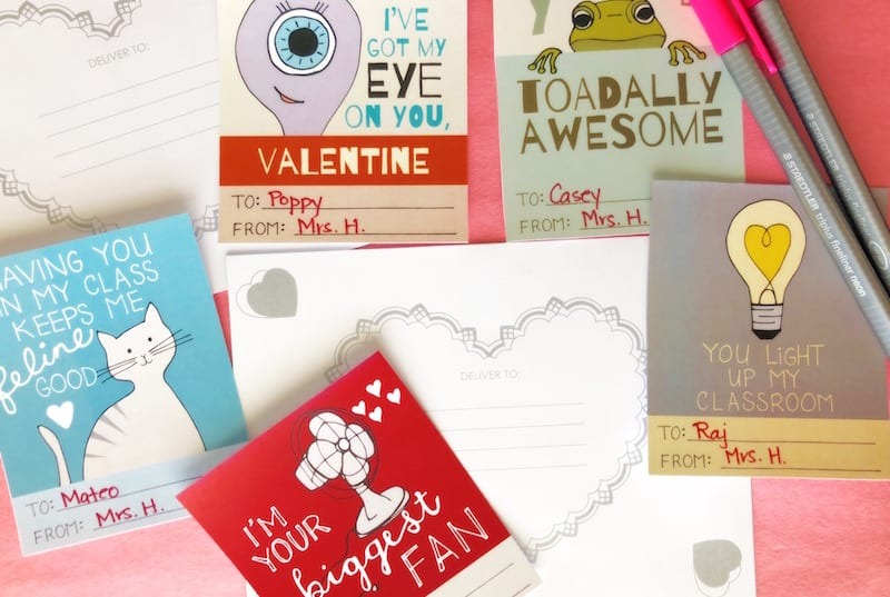 printable valentines for students 3