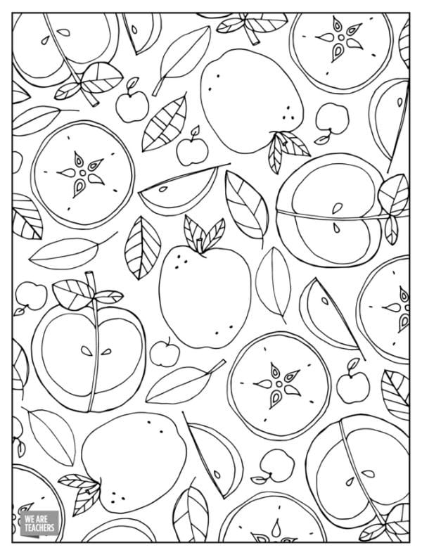 download the pdf of these teacher coloring pages to print right now