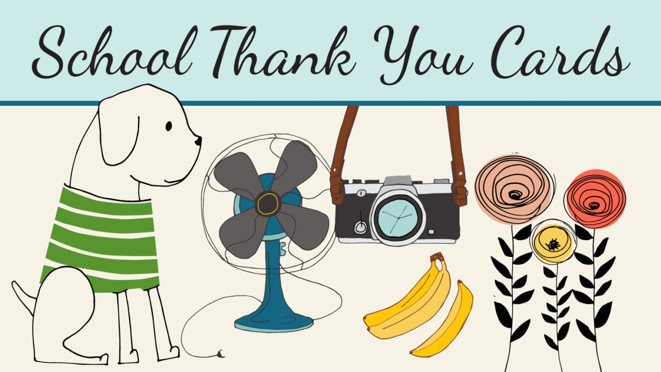 School Thank-You Cards for Custodians, Librarians and ...