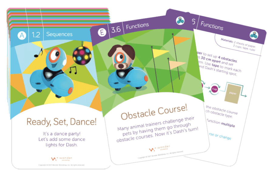 Dash & Dot Challenge Cards Must-Have Spaces That Foster Creativity
