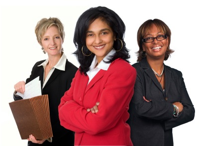 Group of Networking professional women from diverse backgrounds