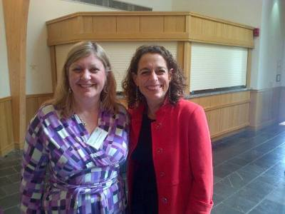 Alex Polizzi and Susan Heaton Wright