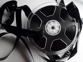 broken film reel