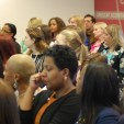 audience at Women Unplugged - Chicago Booth Business School London