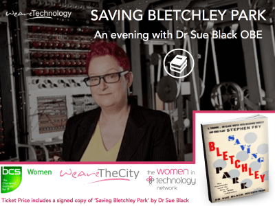 Dr Sue Black OBE-Event with Women in Technology and BCS Women