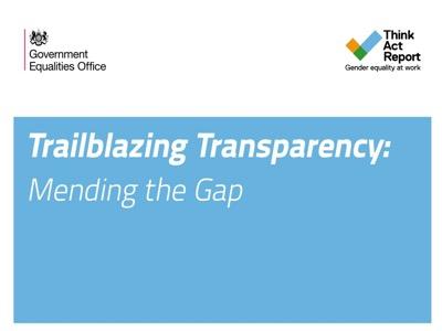 trailblazing transparency mending the gap deloitte