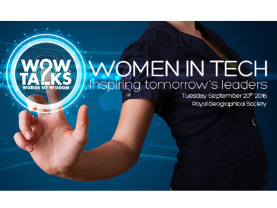 WOW Talks - Women in Tech event feature