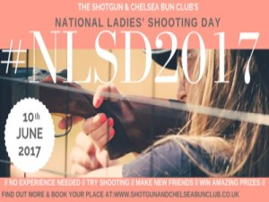 The Shotgun & Chelsea Bun Club announced their third National Ladies' Shooting Day #NLSD2017 @ Various Locations