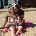 Me, Mummy & Daddy On Clacton Beach